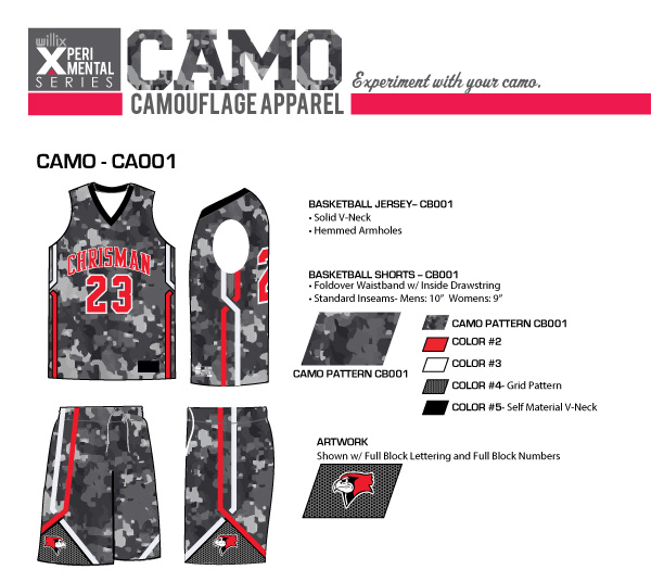 Camouflage Sportswear Willix Sports Philippines Trusted Brand